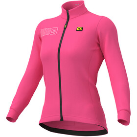 Alé Cycling Solid Color Block Jersey Women fluo pink